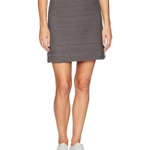 NEW prAna Women's Jacquard Knit Macee Skirt Size S